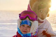 En Alaska, aguantar 45 grados bajo cero es deporte extremo