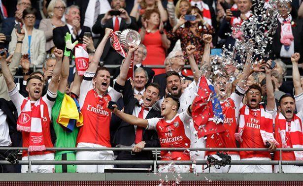 Arsenal sorprende a Chelsea y gana la FA Cup