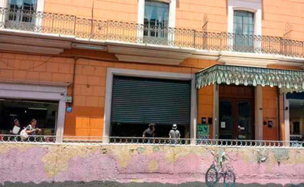 Cierran comercios por conflicto  de normalistas en Aguascalientes