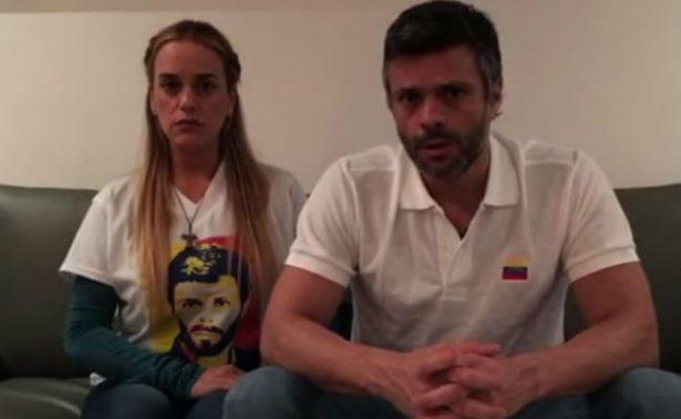 """""""Vale la pena luchar""""; Leopoldo López anuncia embarazo de su esposa"""