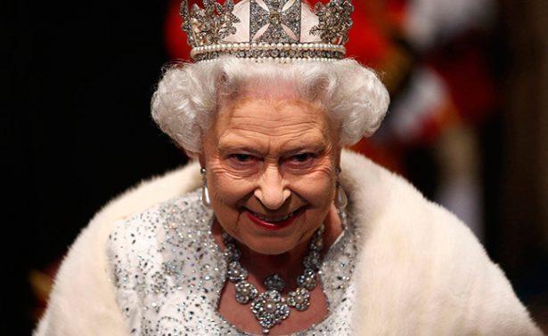 Noquea resfriado a la reina Isabel II