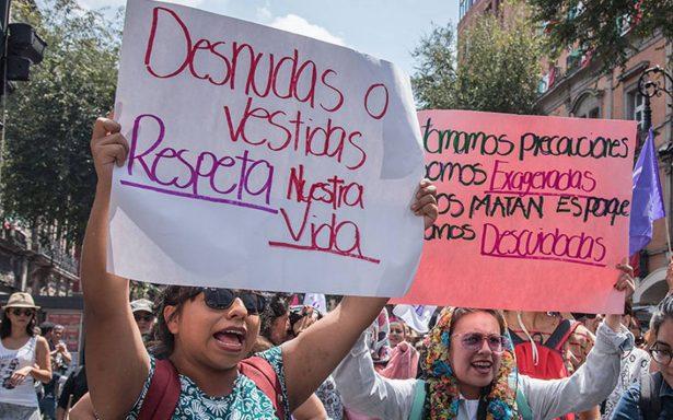 Durante los últimos tres años, aumentan 72.2% los feminicidios