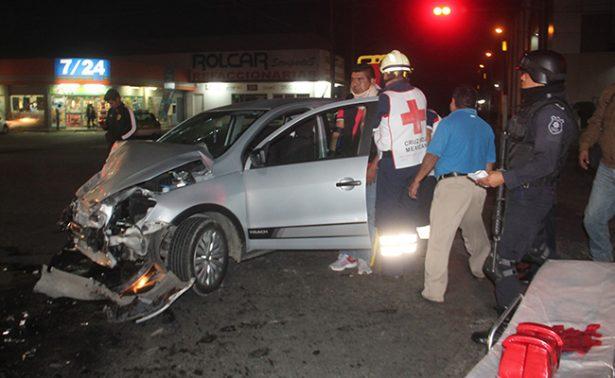 Carambola deja tres heridos en Córdoba