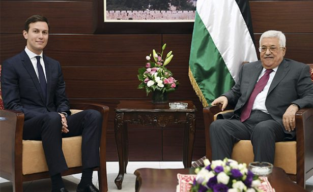 Yerno de Trump viaja a Israel como parte de una iniciativa de paz
