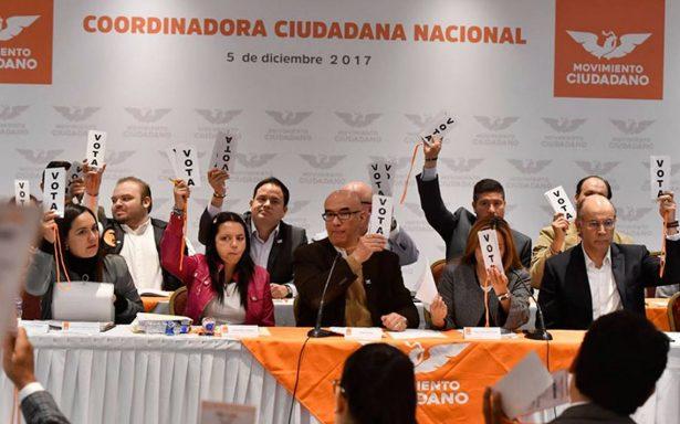 Movimiento Ciudadano aprueba que candidato presidencial del Frente Ciudadano sea del PAN
