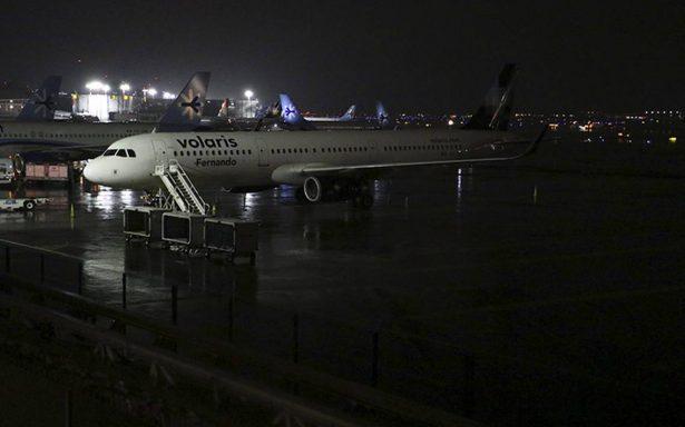 Por tromba estos son algunos vuelos desviados del Aeropuerto de la CDMX