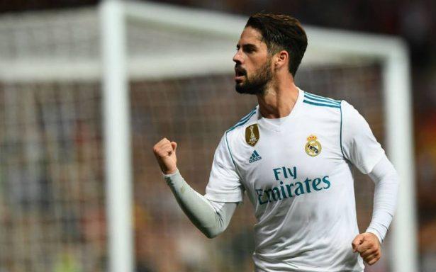 Real Madrid vence a Espanyol con un doblete de Isco