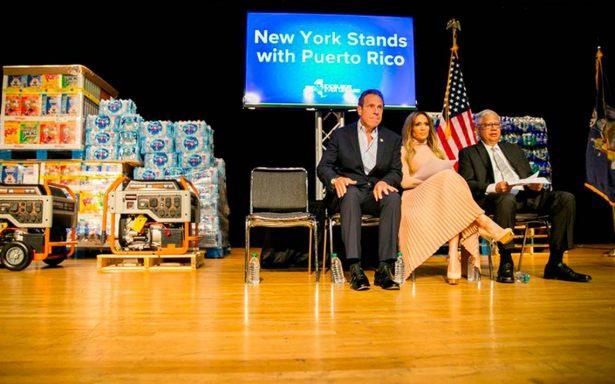 JLo dona 1 mdd a Puerto Rico; pide apoyo tras devastación por María