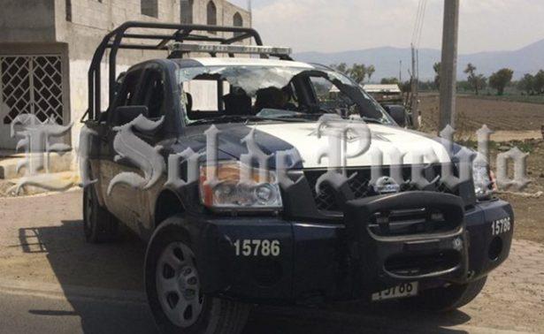 Pobladores de Palmarito bloquean la Puebla-Orizaba; exigen salida del ejército