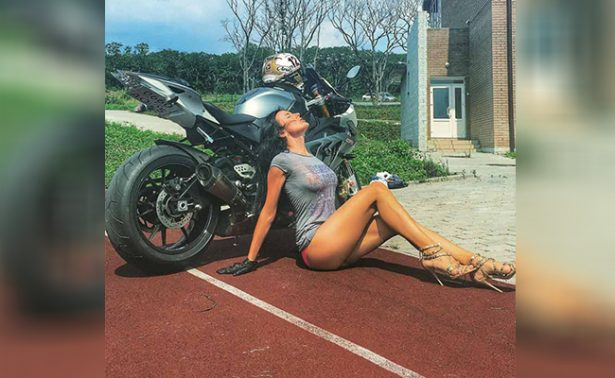 "Muere en terrible accidente la sexy ""Reina de las Motocicletas"""