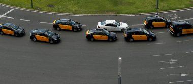 Taxistas españoles se unen en contra de Uber y Cabify