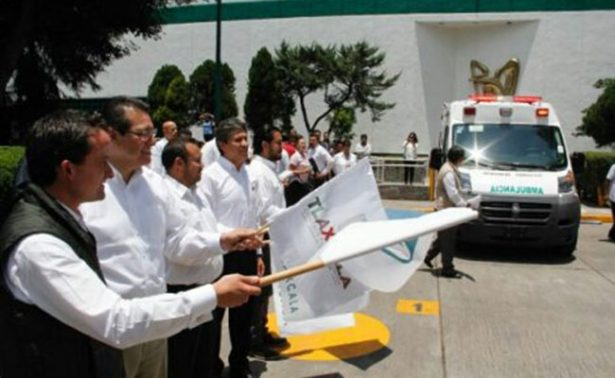 Inauguran gobierno de Tlaxcala e IMSS Polideportivo