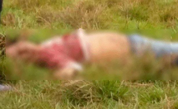 Hallan cadáver de hombre en predio de Cosoleacaque