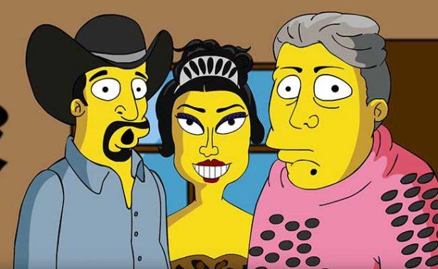 ¡Hasta Los Simpson quieren ir a los XV años de Rubí!