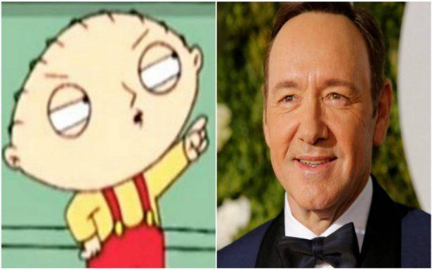 Episodio de Family Guy ¿predijo polémica de Kevin Spacey?