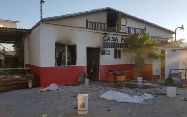 Arde asilo de ancianos en Tijuana; mueren 6