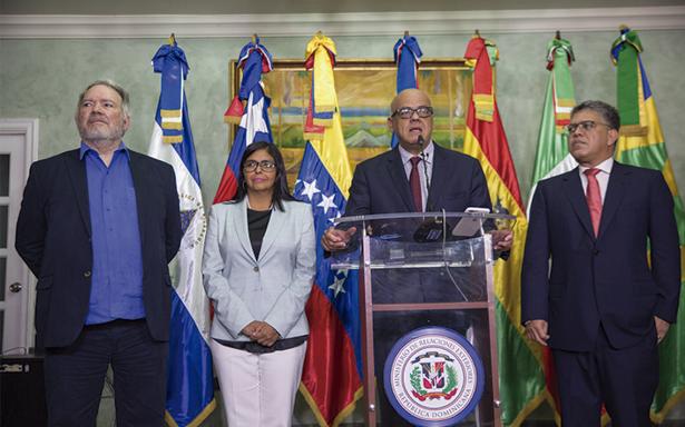 Avance positivo en la negociación de la crisis en Venezuela
