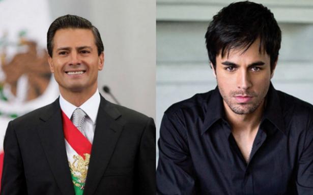 Así transcurrió el día en el que Enrique Iglesias fue presidente de México