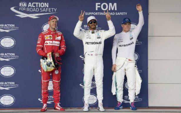 Hamilton refuerza su liderato al ganar el GP de EU; Vettel fue segundo