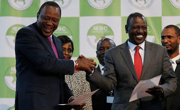 Uhuru Kenyatta, reelegido presidente de Kenia con 54% de los votos