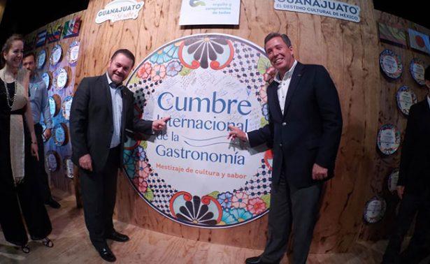 """Inició cumbre gastronómica """"¡Guanajuato, Sí Sabe!"""""""