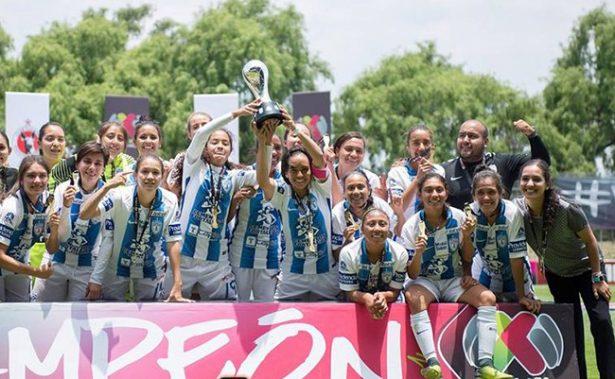 ¡Histórico! Pachuca se lleva la primer Copa Femenil