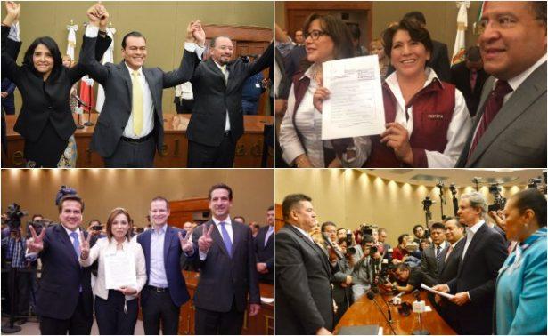 Se registran los candidatos para gobernador del Edomex
