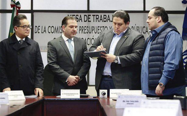 Concluye recepción de peticiones presupuestales en la CdMx