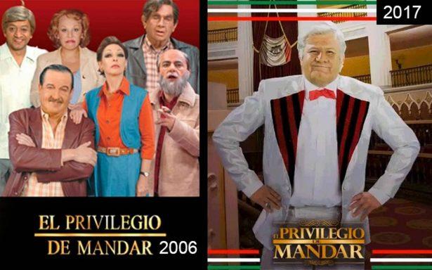 """Regresa """"El privilegio de mandar"""" con su sátira política para elecciones de 2018"""