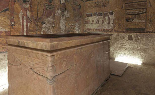 Piezas del tesoro de Tutankamón