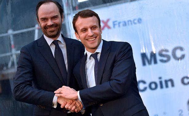 Nombra Macron a Edouard Philippe, como primer ministro