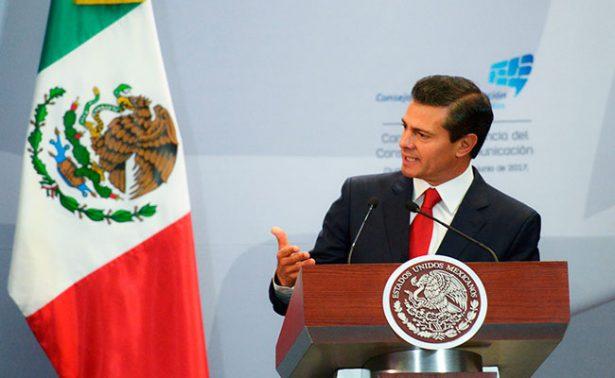 Propone Peña Nieto una estrategia nacional de inclusión