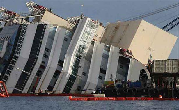 Dan 16 años de cárcel al comandante del naufragado Costa Concordia