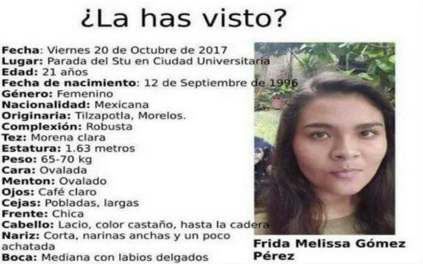 Reportan desaparición de otra estudiante de la BUAP