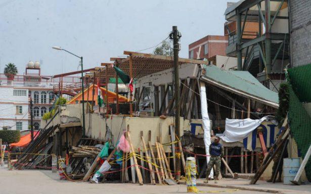 Gobierno federal avanza en reconstrucción de escuelas dañadas por sismo