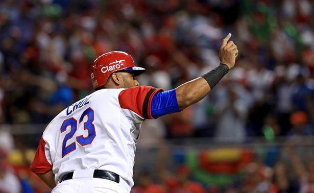 República Dominicana le gana a Estados Unidos en el Clásico Mundial.