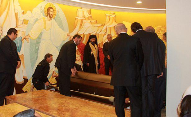 Sepultan en Catedral de San Pedro al Arzobispo Antonio Chedraoui