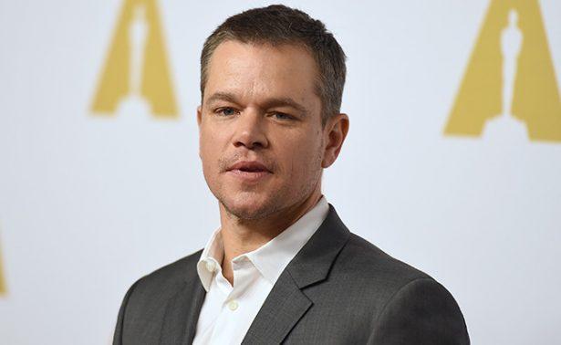 """Matt Damon, preocupado por """"arrogancia"""" de Trump frente a Corea del Norte"""