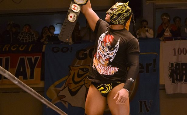 "Dragon Lee y Volador Jr. en la gira ""Best of the Super Jr. 24"