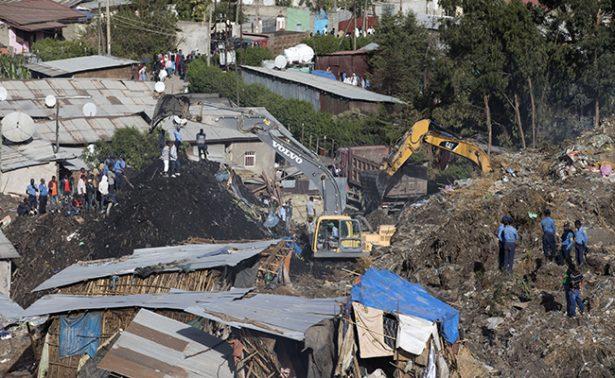Reportan 35 muertos por deslizamiento de tierra en Etiopía