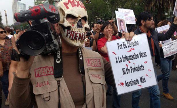 Periodistas del mundo piden garantizar seguridad para colegas en México