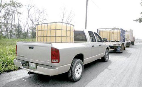 Aseguran 30 mil litros de hidrocarburo en Altamira