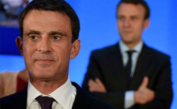 Valls decreta muerte de Partido Socialista y se suma a Macron