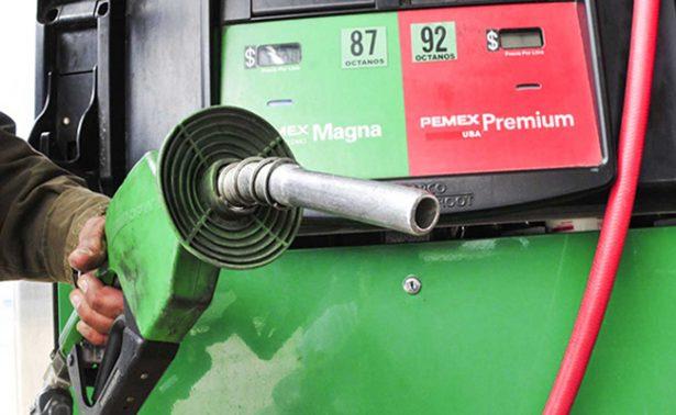 Gasolinas y diésel se venderán dos centavos menos en este día