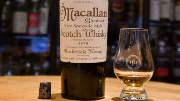 Hombre paga casi 8.800 euros por ¡un vaso de whisky!