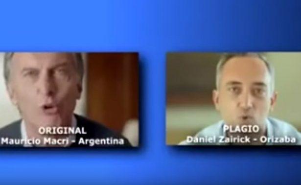 Candidato a alcaldía de Orizaba plagia discurso a Macri