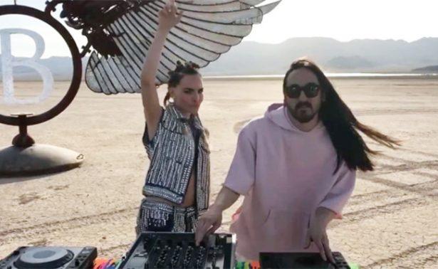 """Belinda revela detalles sobre su video """"Bailalo"""" con Steve Aoki"""