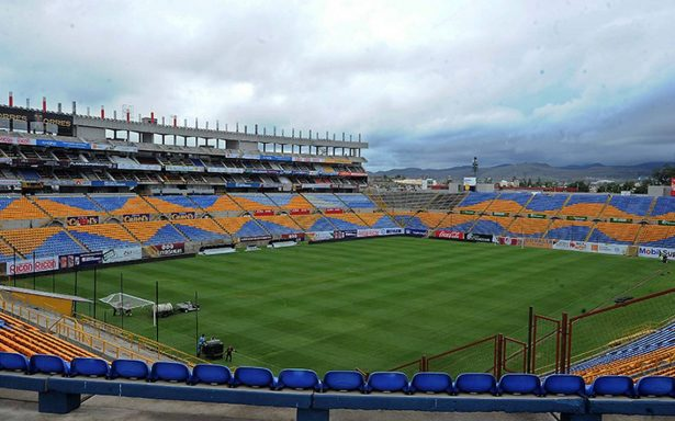 El estadio Alfonso Lastras lista para recibir al Tricolor