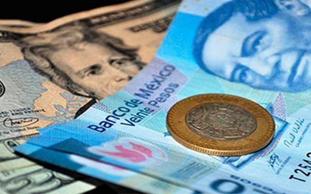 Peso acumula una pérdida de 4.1% al cuarto trimestre