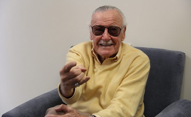"""""""No soy una superestrella"""", así va la visita de Stan Lee en la Conque"""